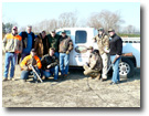 North Carolina Upland Game Bird Hunting - 2008 DaHunt for the Cure Crew